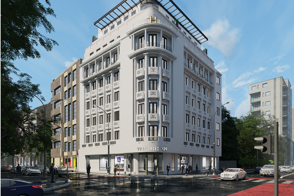 Hagag Development Europe gets building permit for H Victoriei 139 project in Bucharest