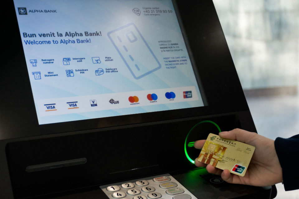 Alpha Bank Romania accepts Union Pay cards at its ATM network
