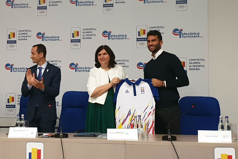 Electrica Furnizare partners with Romanian Olympic and Sports Committee to support the national Olympic team