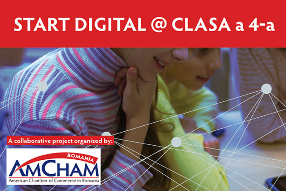 AmCham Romania calls for the introduction of digital skills classes in school