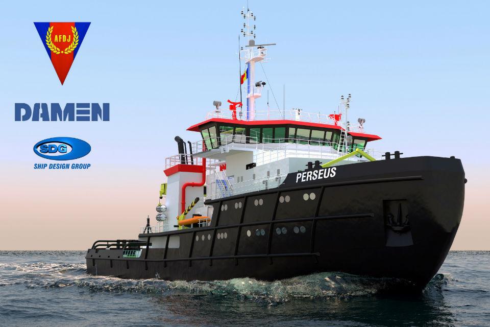 Ministry of Economy: Damen Mangalia Shipyard will modernize the Perseus icebreaker