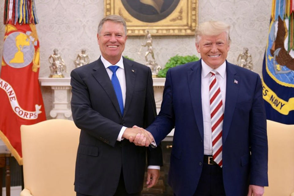 President Iohannis visits White House, commits to expanding strategic partnership with US