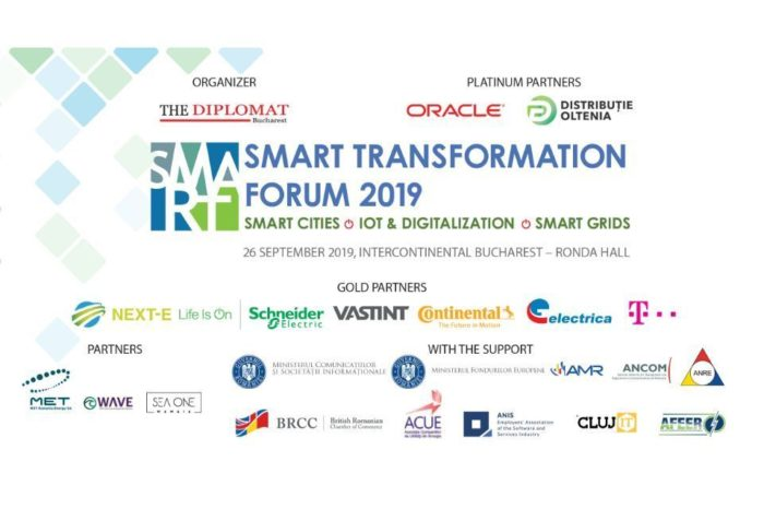 Smart Transformation Forum talks about the Smart Cities on September, 26 at Bucharest