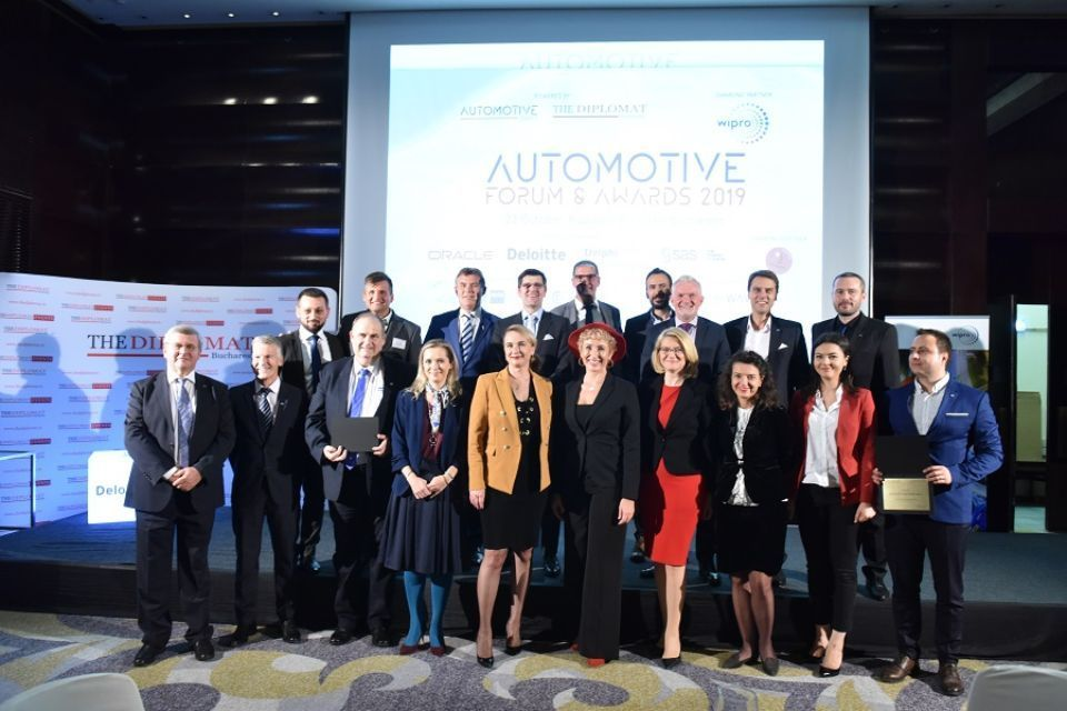 The Automotive Industry Awards Gala celebrated the winners of the industry on October 22 at Bucharest