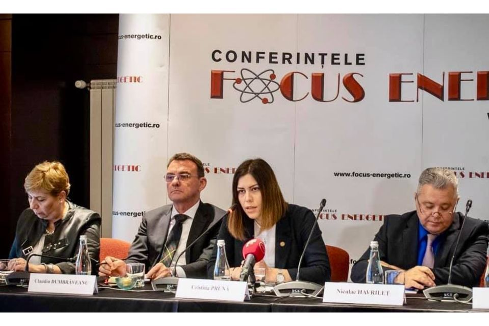 MP Cristina Pruna (USR): The energy industry entered a negative trend, no longer sets the tone for the economy