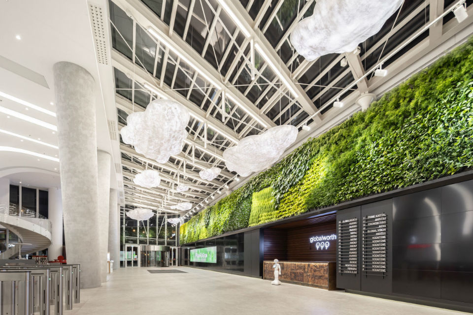 Globalworth inaugurates the biggest kinetic floor in an office building worldwide