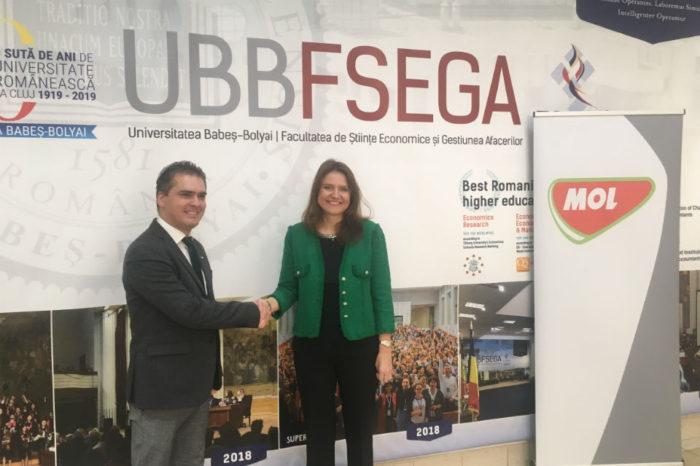 MOL Romania teams up with Babeș-Bolyai University, donates 50,000 Euro to 'modernize the educational infrastructure'
