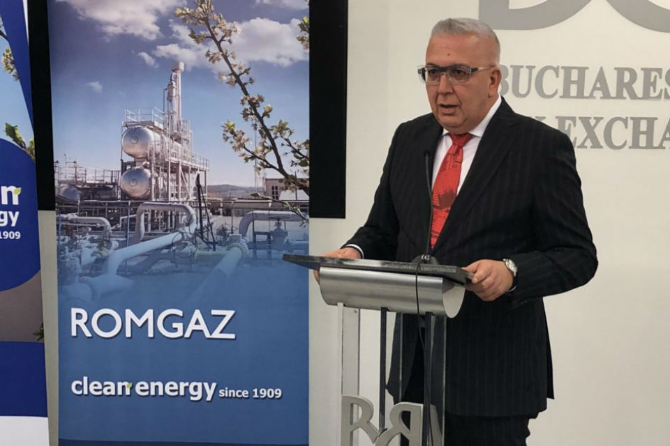 Iernut plant to be functional by yearend, says Romgaz CEO
