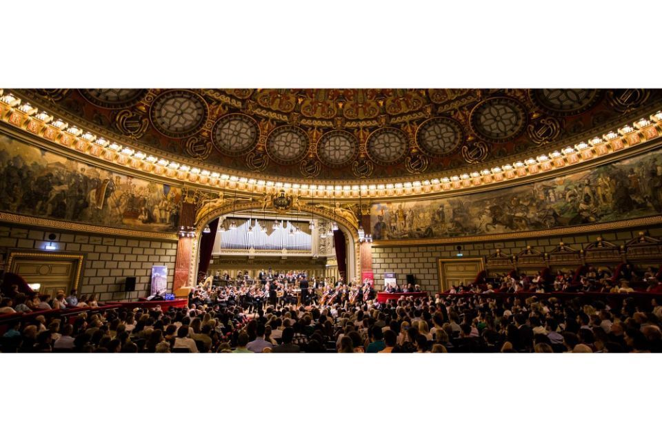 """""""George Enescu"""" Philharmonic to broadcast concerts on its YouTube channel, starting Thursday"""