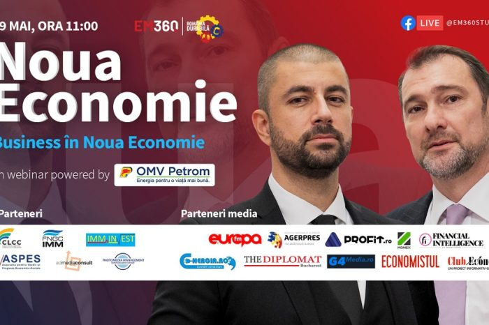 Business in the new economy webinar to take place on May 19 , an initiative of Romania Durabila and EM360