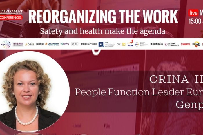 Crina Ilie, Genpact: We should join forces to manage this new blurry delimitation between work and life