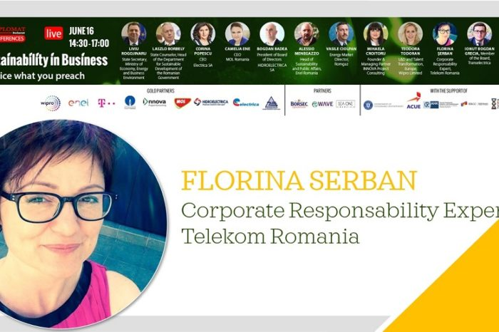 Florina Serban, Telekom Romania: Our challenge is to reduce energy consumption in the context of increasing data consumption