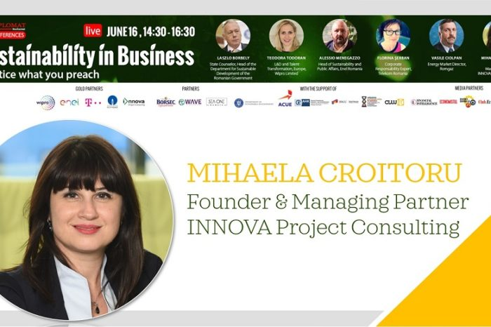 SUSTAINABILITY IN BUSINESS, MIHAELA CROITORU, Founder & Managing Partner INNOVA Project Consulting: The EU revision of non-financial reporting Directive 2014/95 answers the need of increasing the clarity and quality of reported information regarding the sustainability objectives