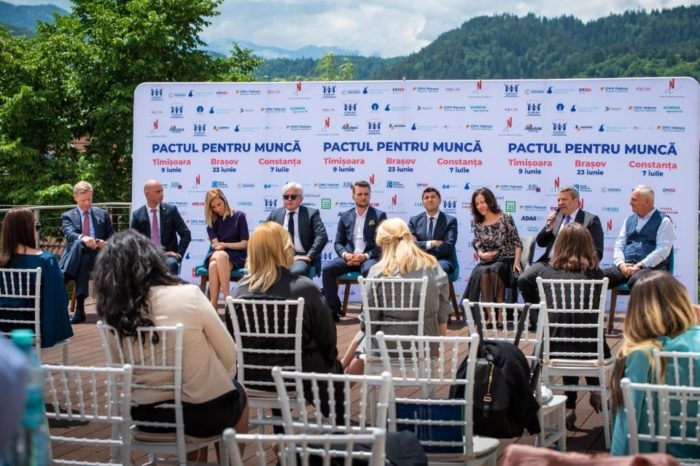 """""""Pactul pentru Munca"""" conference in Brasov: Education not adapted to the real economy is a problem of the labor market"""