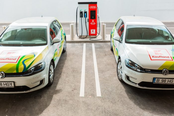 Kaufland Romania expands the EV charging stations network internationally and creates a new corridor that connects Romania with the Republic of Moldova