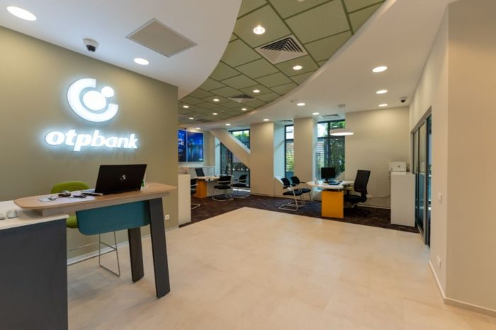 OTP Bank Romania opens new branch concept in Bucharest