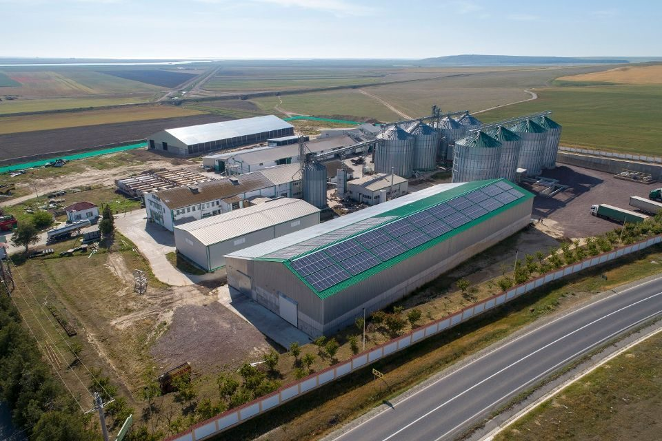 Enel X Romania installed a photovoltaic system at oil factory in Tulcea County