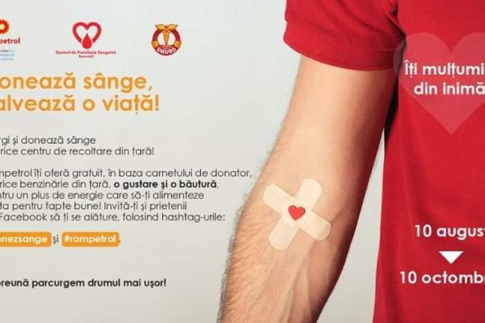 KMG International and SMURD Foundation launch campaign to support blood donation at national level