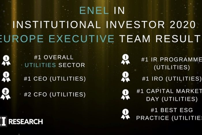 """Enel tops institutional investor magazine's """"All Europe executive team"""" rankings"""