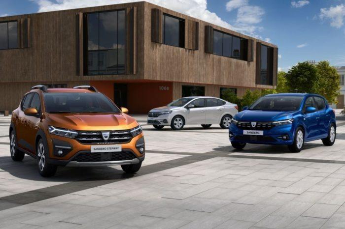 Dacia reveals the all-new Sandero, Sandero Stepway and Logan