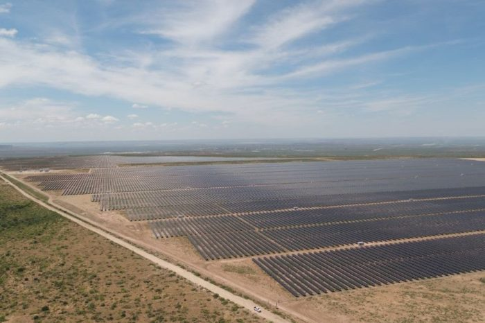 Enel Green Power completes the 245 MW second phase of its solar plant in Texas