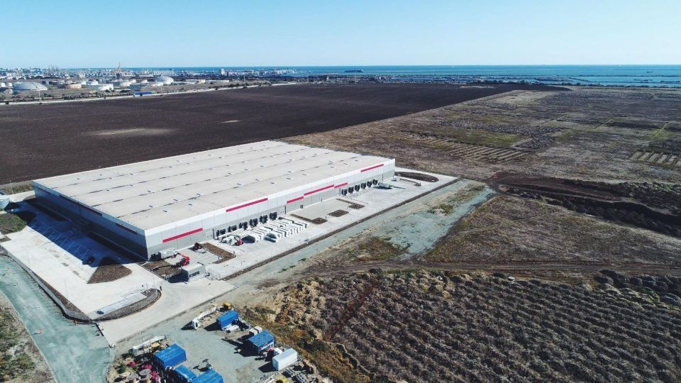Dunwell brokered for Maspex the lease of industrial space in Global Vision's Constanta warehouse