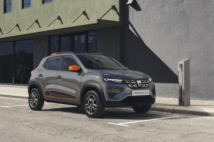 Dacia reveals the all-new Spring Electric: the electric revolution by Dacia