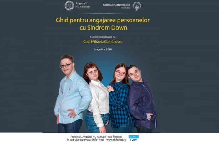 """Special Olympics Romania launches the Guide for hiring people with Down syndrome and the project platform """"Employees, NOT assisted persons"""""""