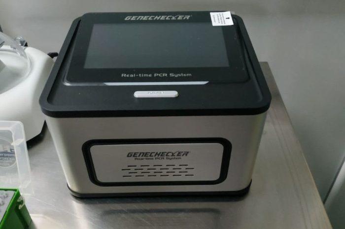 Donalam donates Real Time PCR analyzer to Calarasi County Hospital