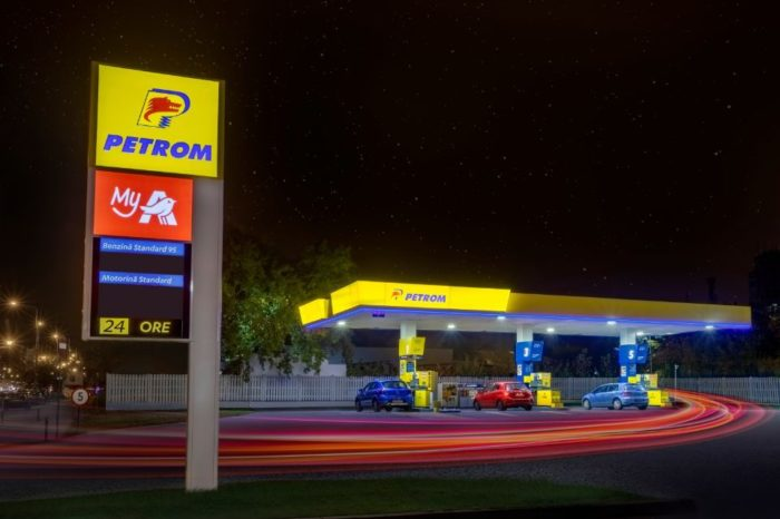 OMV Petrom and Auchan Retail Romania inaugurate first modernized filling station