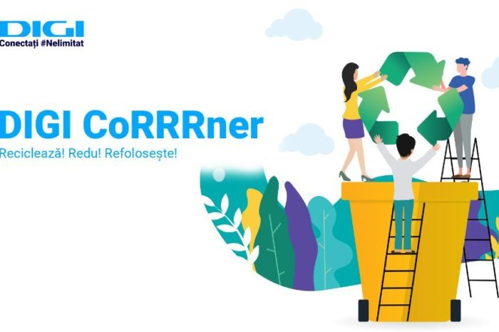 Digi launches Digi CoRRRner, a place for the collection of electronic waste, batteries inside its stores