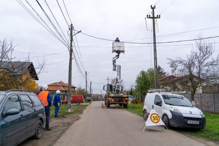 E-Distributie Banat invested 127 million RON in grid modernization, digitalization in four counties