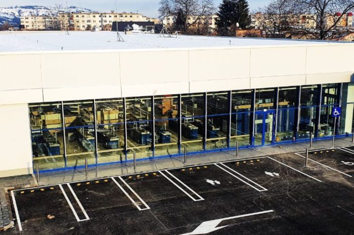 Construction company Masterbuild delivers new store for German retailer in the city of Baicoi
