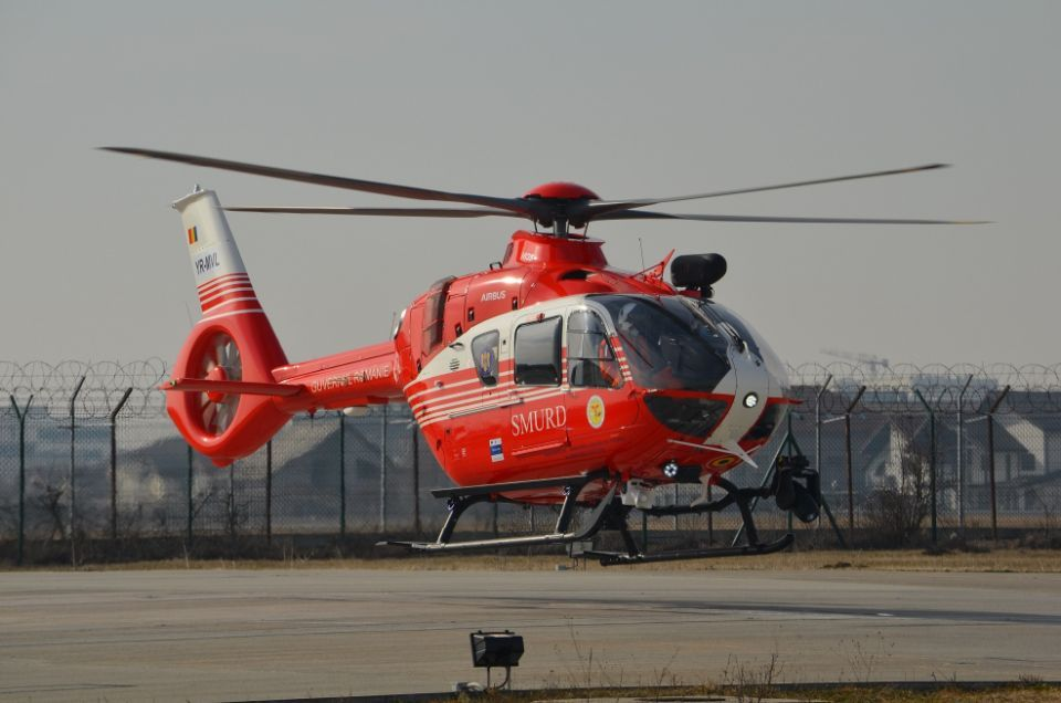 Airbus Helicopters Romania delivers the first batch of new generation H135 helicopters to the Romanian state
