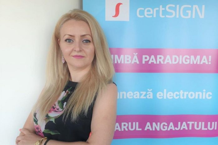 Ana Teodorescu, HR Manager of certSIGN: The role of HR departments became more strategic, as catalysts of organizational changes