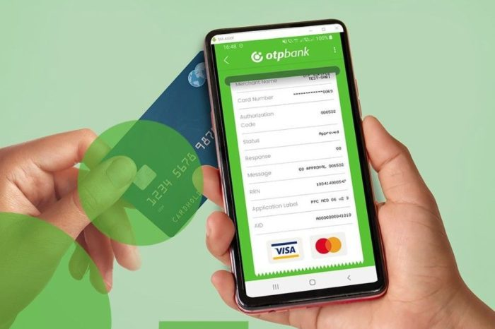 OTP Bank launches app that transforms the mobile phone into a POS and allows card payments