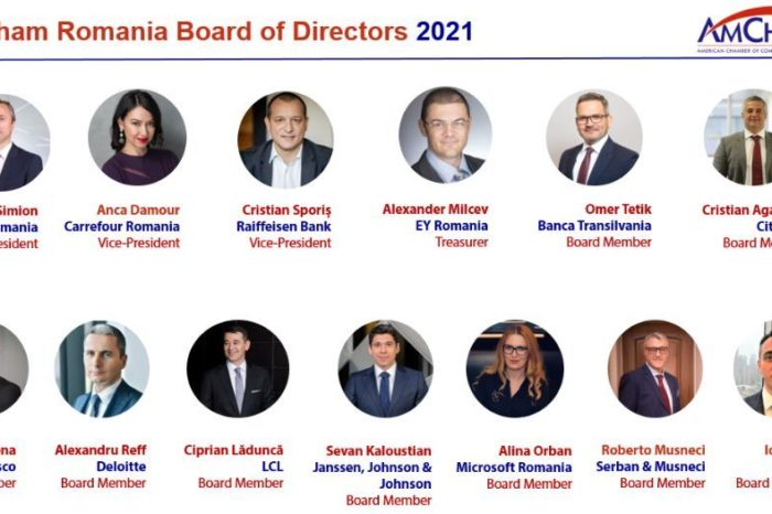 AmCham Romania announces new members in the Board of Directors