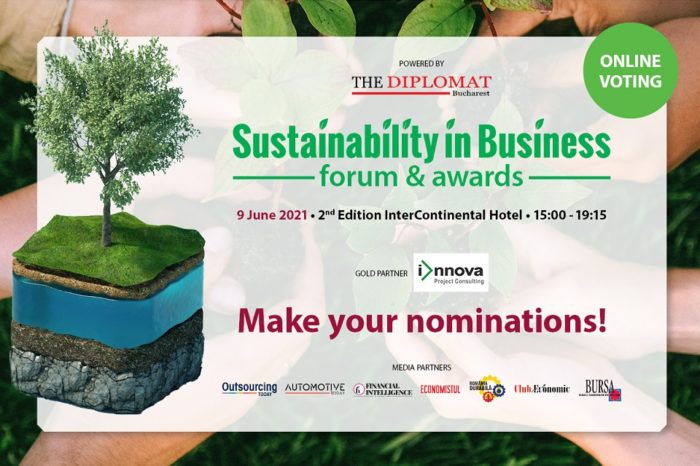 The Nominations for SUSTAINABILITY IN BUSINESS AWARDS GALA are now OPEN
