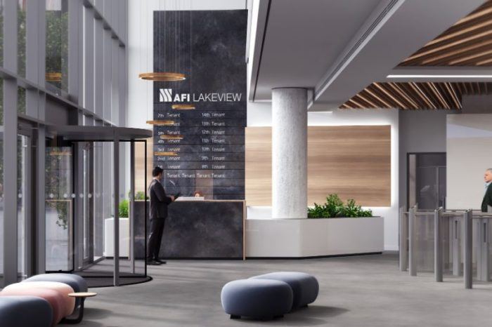 AFI Europe Romania invests 1.6 million Euro in refurbishment of Lakeview office building