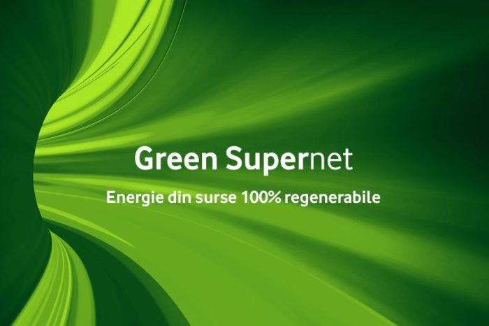 Vodafone says its Romanian network is now 100 percent green, being fully powered by renewable energy