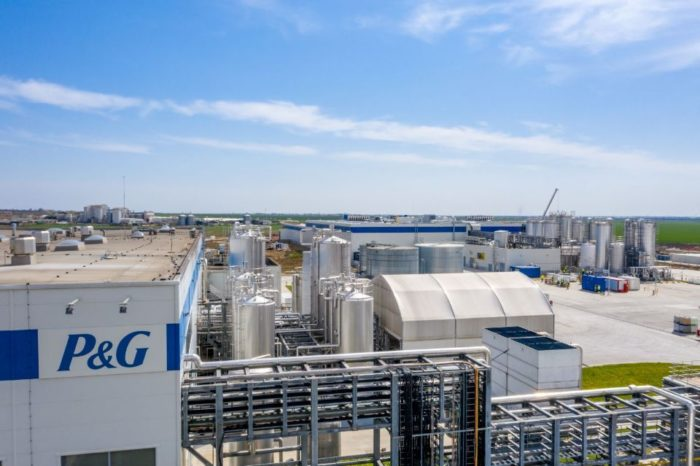 P&G inaugurates new plant in Urlati to serve European consumers
