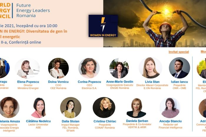 """Future Energy Leaders (FEL) Romania, the youth program of the Romanian National Committee of the World Energy Council organizes the conference """"Women in Energy: gender diversity in the energy sector"""""""