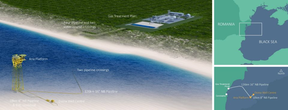 BSTDB provides 15 million Euro loan to support Romania's offshore gas development