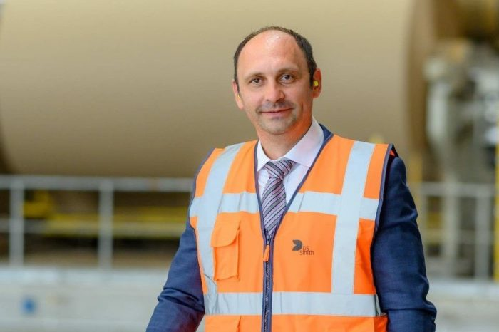 DS Smith appoints Marius Juncanariu as general manager of the paper packaging factory in Zarnesti