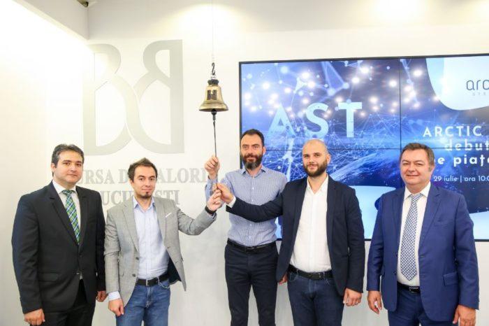 Romanian technology company Arctic Stream debuts on the AeRO market