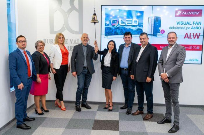 Romanian technology brand Allview debuted on BVB AeRO market