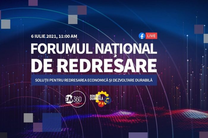 National Recovery Forum: How to recover Romania