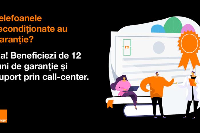 Orange, the first mobile network operator to include refurbished premium smartphones in its portfolio