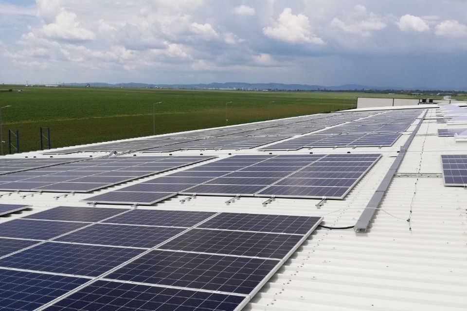 E.ON installed photovoltaic power plant for Wetterbest