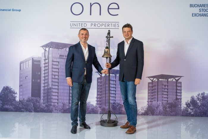 One United Properties is officially listed on the Bucharest Stock Exchange